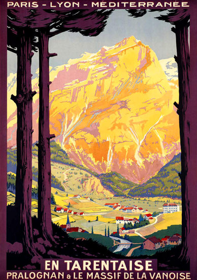 En Tarentaise 1930s | Vintage Travel Posters 1891-1970