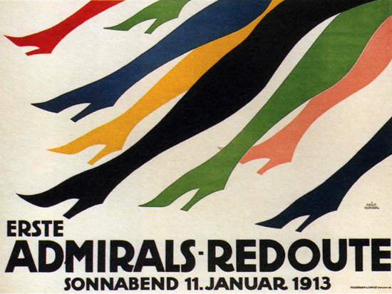 Erste Admirals-Redoute 1913 Deutschland | Sex Appeal Vintage Ads and Covers 1891-1970