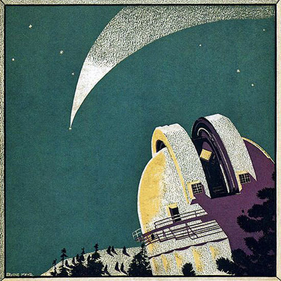 Ervine Metzl Fortune Magazine July 1932 Copyright crop | Best of 1930s Ad and Cover Art