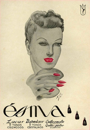 Esma Cosmetics | Sex Appeal Vintage Ads and Covers 1891-1970
