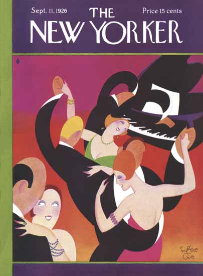 Eugene Gise The New Yorker 1926_09_11 Copyright | The New Yorker Graphic Art Covers 1925-1945