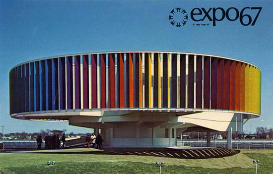 Expo Montreal Quebec Canada 1967 Pavilion | Vintage Ad and Cover Art 1891-1970