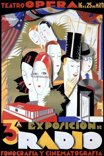 Exposition De Radio Fonografia Y Cinematografia | Sex Appeal Vintage Ads and Covers 1891-1970