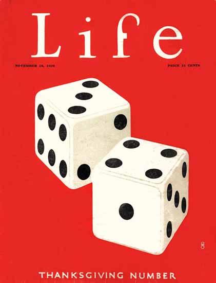 FG Cooper Life Humor Magazine 1926-11-18 Copyright | Life Magazine Graphic Art Covers 1891-1936