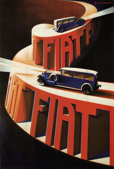 FIAT Italia Italy Barabino Graeve Genova | Vintage Cars 1891-1970