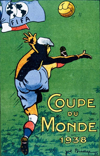 FIFA Coupe Du Monde 1938 Soccer | Vintage Ad and Cover Art 1891-1970