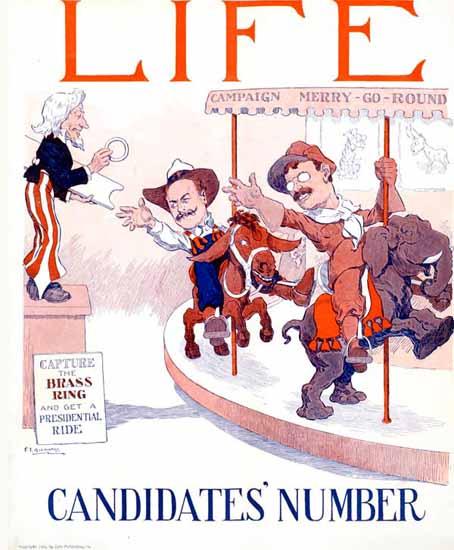 FT Richards Life Humor Magazine 1904-10-06 Copyright | Life Magazine Graphic Art Covers 1891-1936