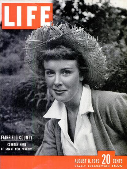 Fairfield County 8 Aug 1949 Copyright Life Magazine | Life Magazine BW Photo Covers 1936-1970