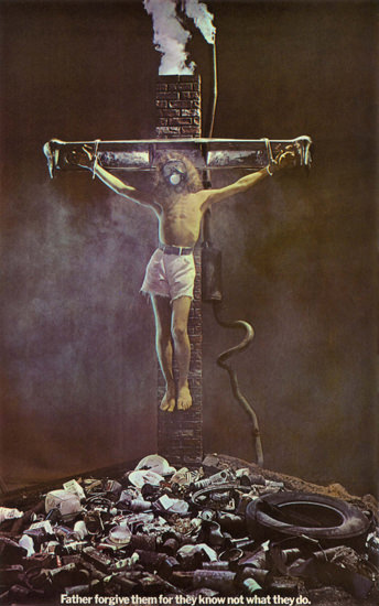 Father Forgive They Know Not What They Do | Vintage Ad and Cover Art 1891-1970
