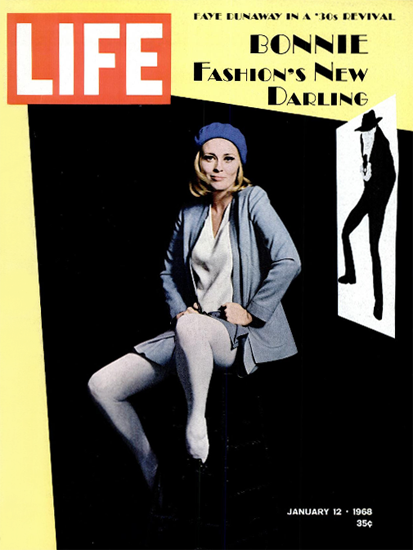 Faye Dunaway and The Happening 12 Jan 1968 Copyright Life Magazine | Life Magazine Color Photo Covers 1937-1970