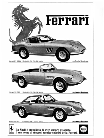 Ferrari 300 HP Models 1966 Design By Pininfarina | Vintage Cars 1891-1970