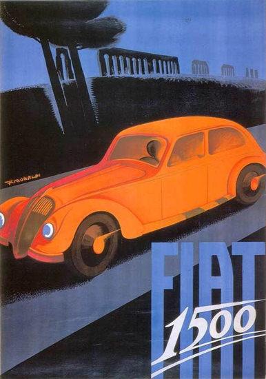 Fiat 1500 Italy 1935 Giuseppe Riccobaldi | Vintage Cars 1891-1970