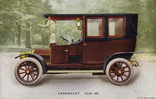 Fiat 20 HP Landaulet 1911 | Vintage Cars 1891-1970