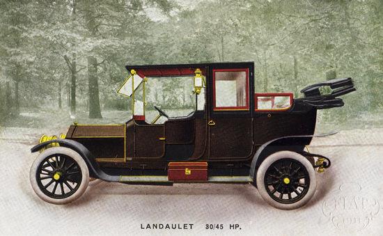 Fiat 45 HP Landaulet 1911 | Vintage Cars 1891-1970