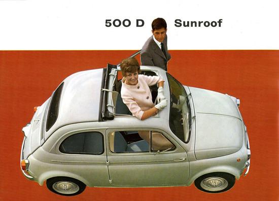 Fiat 500 D Sunroof 1955 | Vintage Cars 1891-1970