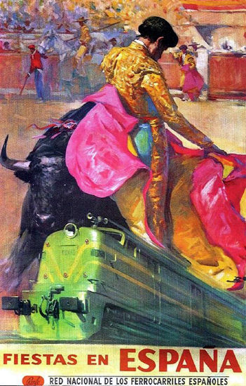 Fiestas En Espana 1962 Torero | Sex Appeal Vintage Ads and Covers 1891-1970