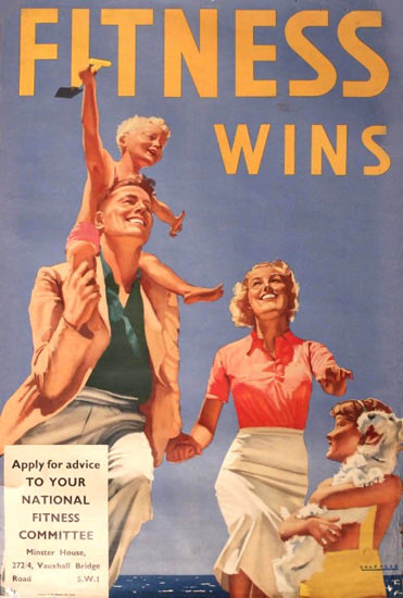 Fitness Wins 1938 | Vintage Ad and Cover Art 1891-1970