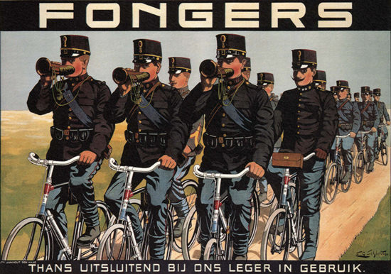 Fongers Netherlands Bicycles | Vintage Ad and Cover Art 1891-1970