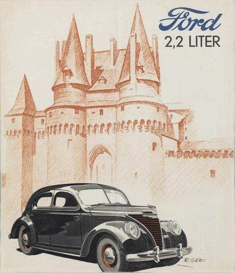 Ford 2-2 Liter 1939 | Vintage Cars 1891-1970