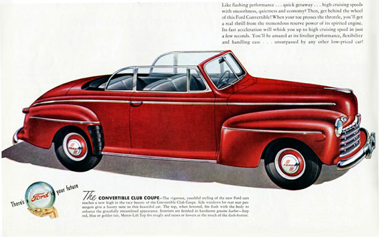 Ford Convertible Club Coupe 1946 | Vintage Cars 1891-1970