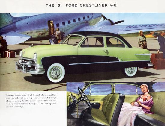 Ford Crestliner V8 1951 Airport | Vintage Cars 1891-1970