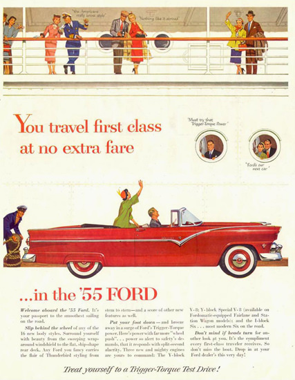 Ford Fairlane 1955 | Vintage Cars 1891-1970