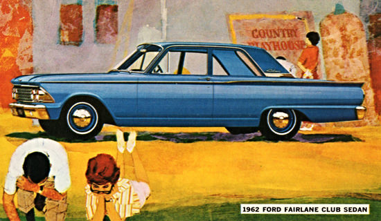Ford Fairlane Club 1962 Country Playhouse | Vintage Cars 1891-1970