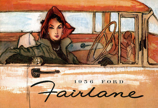 Ford Fairlane Lady 1956 | Vintage Cars 1891-1970