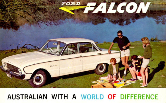 Ford Falcon 1960 Australian World Of Difference | Vintage Cars 1891-1970