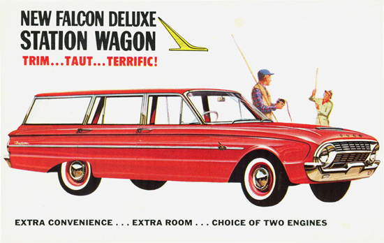 Ford Falcon DeLuxe Station XL Australia 1962 | Vintage Cars 1891-1970