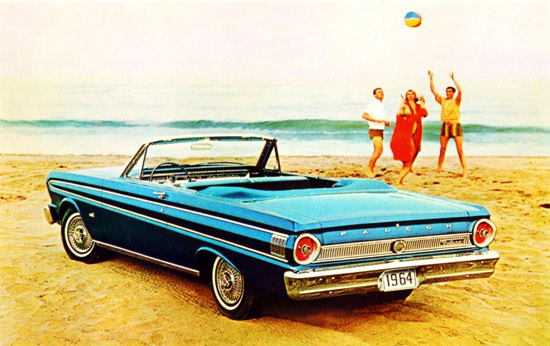 Ford Falcon Futura Convertible 1964 Beach | Vintage Cars 1891-1970