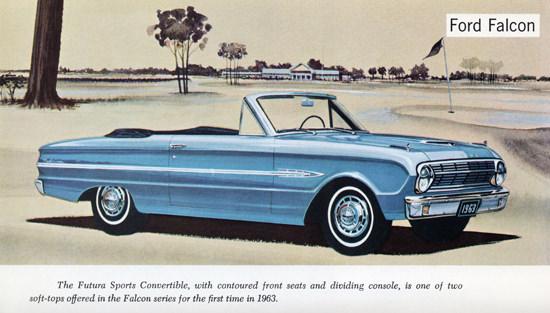 Ford Falcon Futura Sports Convertible 1963 Golf | Vintage Cars 1891-1970