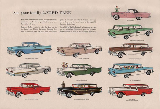 Ford Free Collection 11 Cars | Vintage Cars 1891-1970