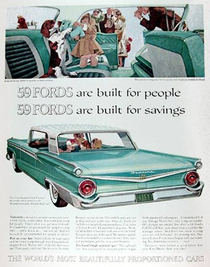 Ford Galaxie 500 Coupe 1959 For People Savings | Vintage Cars 1891-1970