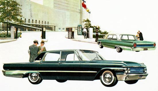 Ford Galaxie Town Sedan 1961 Green | Vintage Cars 1891-1970