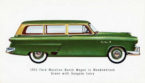 Ford Mainline Ranch Wagon 1952 | Vintage Cars 1891-1970