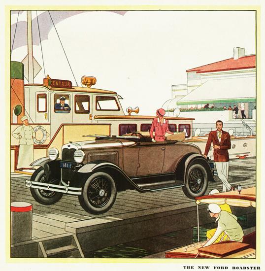 Ford Model A Roadster 1930 | Vintage Cars 1891-1970