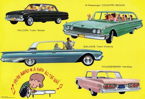 Ford Models 1960 Peanuts Charlie Thunderbird | Vintage Cars 1891-1970