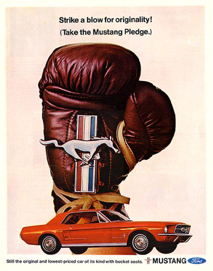 Ford Mustang Pledge 1967 A Blow For Originality | Vintage Cars 1891-1970