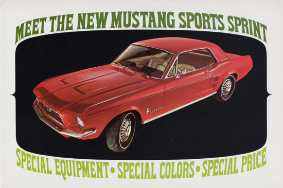Ford Mustang Sports Sprint Limited Edition 1967 | Vintage Cars 1891-1970