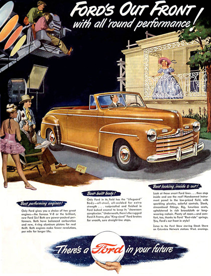 Ford Out Front Hollywood | Vintage Cars 1891-1970