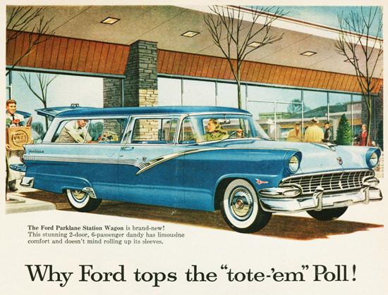 Ford Parklane Station Wagon 1956 | Vintage Cars 1891-1970