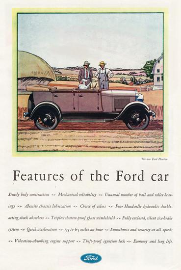 Ford Phaeton 1929 Theft Proof | Vintage Cars 1891-1970