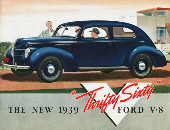 Ford Sixty V8 Thrifty Sixty 1939 | Vintage Cars 1891-1970