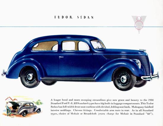 Ford Standard Tudor Sedan 1938 | Vintage Cars 1891-1970