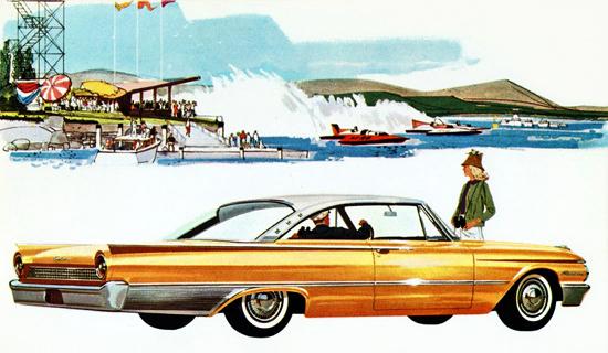 Ford Starliner 1961 Speedboat | Vintage Cars 1891-1970