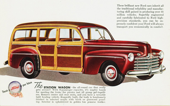 Ford Station Wagon 1946 | Vintage Cars 1891-1970