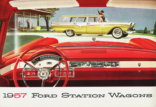 Ford Station Wagons 1957 Goodbye | Vintage Cars 1891-1970