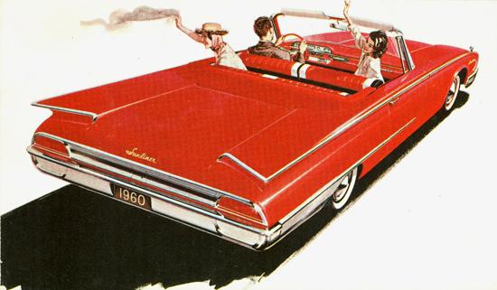 Ford Sunliner 1960 | Vintage Cars 1891-1970