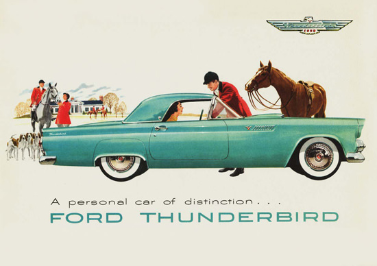 Ford Thunderbird 1955 | Vintage Cars 1891-1970